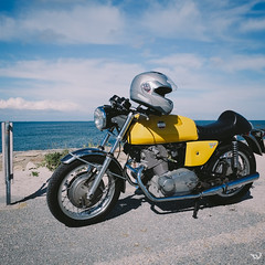 3156 (Toms_V) Tags: travel summer france bike square seaside fujifilm 18mm xe1