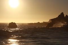 Pacific Haze (RJohn123) Tags: ocean california ranch ca sea sun mist beach rock fog haze rocks surf waves wave rough ohlson