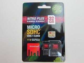 Strontium Nitro Plus 32GB MicroSDHC UHS-1 Card