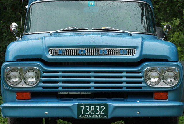 ford antique f100 trucks 1959