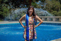 being one with the infinity fountain (AdrienneCredoPhotography) Tags: california summer nikon university graduation southern socal graduate celebrate irvine accomplishment d3200