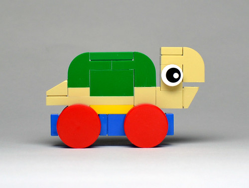 Lego Wooden Turtle