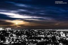 Half n Half.. (Kapil Sabharwal) Tags: travel sun moon holiday clouds wow stars amazing postcard scenic tourist half hdr lightroom innovative 500px instagram photography sunset nikon sunrise blackandwhite sydney northsydney australia bnw nightscape dawn dusk longexposure kapsography