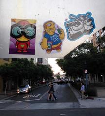 SDCC 7 (Question Josh? - SB/DSK) Tags: streetart stickerart stickers simpsons cisa 14bolt