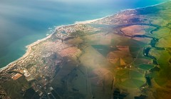 aerial view of Port Elizabeth coastline (WITHIN the FRAME Photography(2.5 Million views tha) Tags: texture southafrica travels patterns aerialview coastline easterncape landsape nx300
