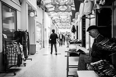 The passage of Paris (A.Fauth) Tags: street people blackandwhite paris france nikon streetphotography passage d610