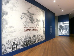 Museum, The Scandalous Art of James Ensor at the Getty Museum, Mural