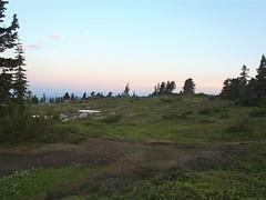 Near sunrise at Goat Flats