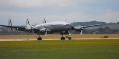 Breitling Lockheed Super Constellation - HB-RSC @ Duxford 2014 (Andy Reeve-Smith) Tags: duxford lock