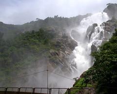 Dudhsagar (tandelbaba) Tags: alco dudhsagar irfca dudhsagarwaterfalls wdg3a wdg4