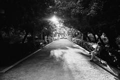 A smoke in the park (Spyros Papaspyropoulos) Tags: park street morning light blackandwhite bw man film monochrome 35mm mono day sitting shadows looking candid streetphotography smoking greece 35mmfilm crete rodinal bwphotography rethymno whiteandblack candidphotography kodaktmax100 filmphotography streetphotographer dayshot yashicaelectro35cc analoguephotography streethunters