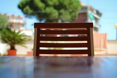 No title (IvanDurso) Tags: travel sea summer italy photography chair holidays colorful estate bokeh outdoor liguria agosto sedia vacanze sunnyday 2014 andora sigma30mm outsidephotography canoneos600d