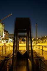 In der Mhle (Manuel Eumann) Tags: longexposure lights nacht blau lichter nachtaufnahme flensburg langzeitbelichtung manueleumann