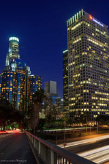 IMG_8745-1 (the_jif) Tags: california road longexposure nightphotography lines architecture lights losangeles cityscape traffic metro perspective streetphotography sparkle lighttrails bluehour magichour thebluehour downtownlosangeles travelphotography lowlightphotography californiacities canont3i