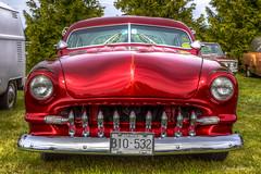 2487 Chopped 50 Ford (Organized Chrome) Tags: school ford sedan oldschool modified chopped custom 1950 prio twodoor