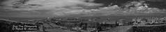 Old San Juan (Sage Frog Photography) Tags: old city panorama monochrome puerto san juan pano rico