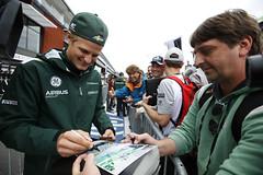 Signing session - Belgian Grand Prix (CaterhamF1) Tags: portrait f1 formulaone formula1 gp
