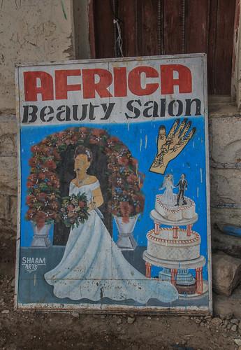 Beauty Salon Painting