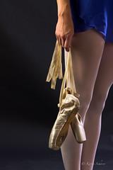 Ballet shoes (Karischa) Tags: ballet training dance ballerina ready