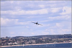 Yakovlev Yak-52 (Bacau) (G.L. Photography) Tags: lifeboat devon lancaster spitfire blades redarrows raiders chipmunks seaking rnli spearman beech18 dawlishairshow yak32