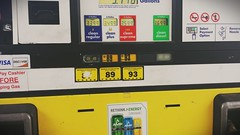 Which One is Used the Most? (bittermonicamarie) Tags: poverty money hard gas gasstation times prices