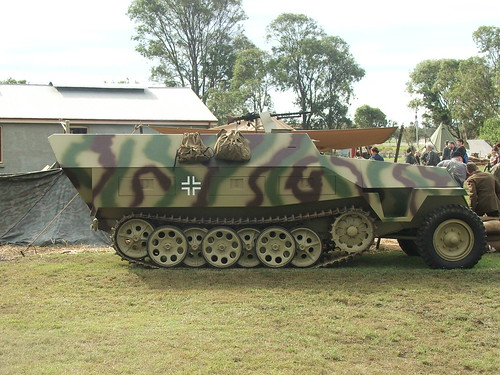 German Half Trak