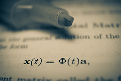 Preparing for showdown (Eighteen for Life) Tags: monotone study finals math exam project365 semsester