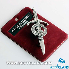 Armstrong Clan Crest Kilt Pin