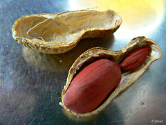 Embalaje (Franco DAlbao) Tags: lumix twins shell peanut packaging cacahuete man embalaje cscara dryfruit mellizos frutoseco dalbao francodalbao
