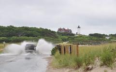 DSC_0175 (Putneypics) Tags: road summer rain flood capecod nobska nobskapoint nobskalight putneypics