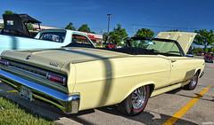 1966 Mercury Cyclone GT Comet (Chad Horwedel) Tags: classic car yellow illinois mercury convertible comet merc downersgrove cyclonegt cozzicorner 1966mercurycyclonegtcomet mercurycyclonegtcomet