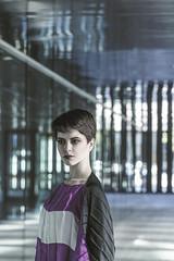STRAIGHT (Xènia D'Angelo) Tags: barcelona people ingrid fashion architecture germany spain russia architektur editorial fira granvia grafic anatolgottfriedphotographer