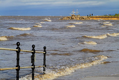 Tidal Hoylake (David Chennell) Tags: waves hightide gracedarling wirral merseyside hoylake