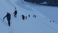 Climbing Cavalier (felipecancino) Tags: canada bc britishcolumbia mountaineering nols coastalrange alpineclimbing waddingtonrange nolspnw mountainexpedition nolsexpedition felipecancino nolsmountaineering waddingtoncourse