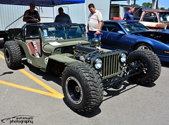 Rat Rod Jeep (scott597) Tags: columbus ohio green rat jeep rod ppg nationals 2014 goodguys