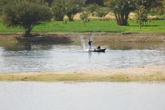 Fishermen on the Nile River (stevelamb007) Tags: cruise river boat fishing nikon fishermen northafrica d70s egypt nile sail stevelamb