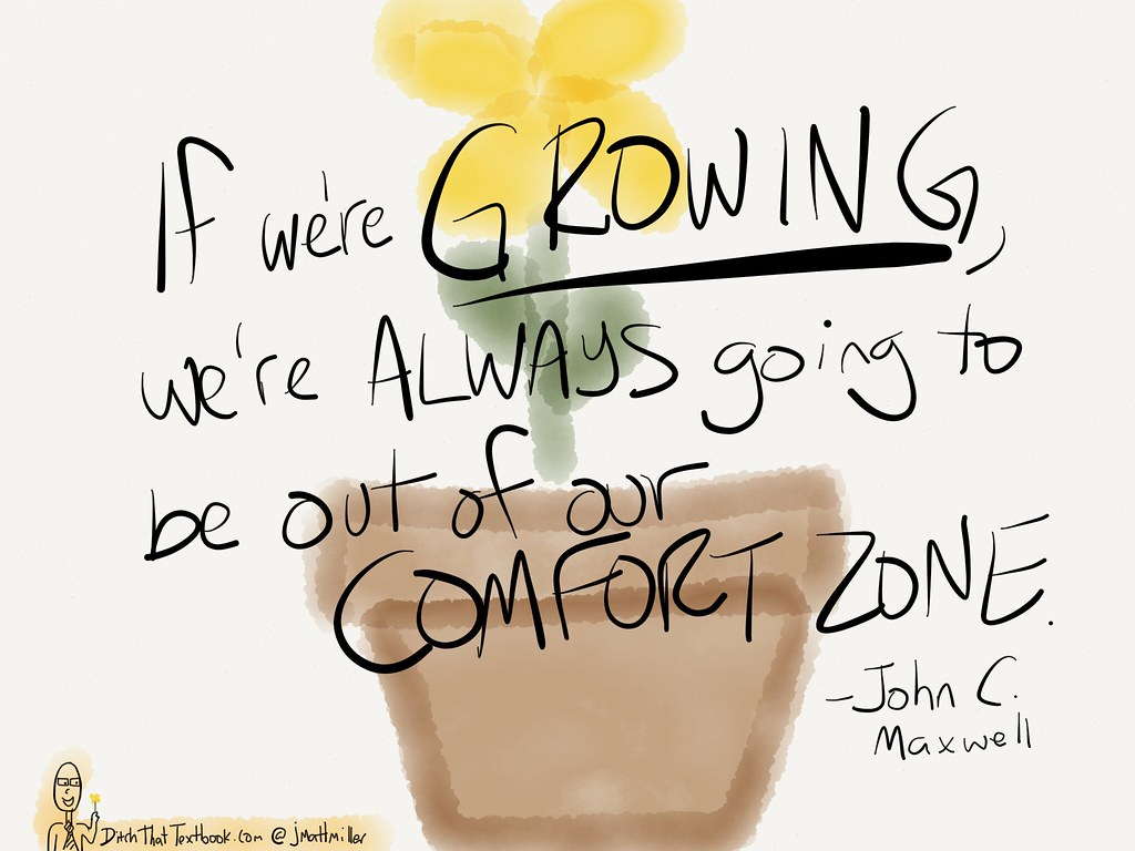 Gowing = out of COMFORT ZONE. by ditchthattextbook, on Flickr