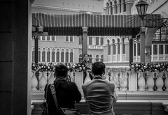 Say Cheese! (Huendey) Tags: street blackandwhite venetian macau