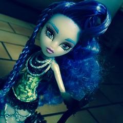Sirena is our free spirit (MyMonsterHighWorld) Tags: monster high doll ghost von freaky boo fusion siren mattel sirena hybrids