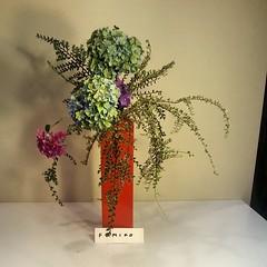 Fumiko's ikebana