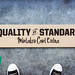 Quality is Standard