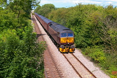 Part 1 of 2: WCRC 47245 leading the 'Doncaster PSB Charter' (parkgateparker) Tags: 47245 northanston westcoastrailwaycompany doncasterpsb syjnt