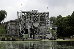 Thieu boat lift (abcklein) Tags: boat lift belgium 2014