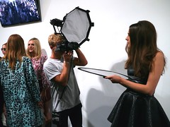 LFW September 2014 - FELDER FELDER SS15 - Backstage (Photonic Syntropy) Tags: show london fashion model models somersethouse behindthescenes runway catwalk fashionweek londonfashionweek ss15 felderfelder eventproduction