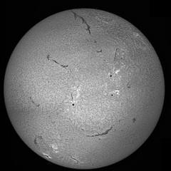 Laboratorium Solaris: Gigantic filaments, arching bridges, hot plages and DMK23 (Sergei Golyshev (is back :)) Tags: camera sun star soleil solar space spot system full h telescope disk astrophotography proc