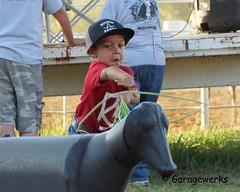 Welch Jr Rodeo, August 2014 (Garagewerks) Tags: boy horse male sport race cowboy all child sony barrel sigma august jr rope rodeo cans welch roping 2014 50500mm barrelracing views50 views100 f4563 slta77v