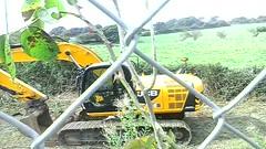 My Ecology garden near Scorrier destroyed by excavator (ecology_garden) Tags:
