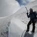 Ruchen Nordwand, nach der Nordwand jetzt noch auf den Gipfel (45min)