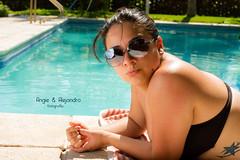 Angie Lam (angieyalejandrofotografia) Tags: sol mujer agua guatemala playa piscina modelo bikini fotografia lentes airelibre bronceado luzdeda strobist likin puertosanjose angielam