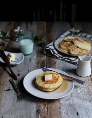 Lemon + Rosemary Ricotta Pancakes (Maggie Pate) Tags: recipe blog foodblog foodphotography maggiepate foodstyling margaretpate witandaroma